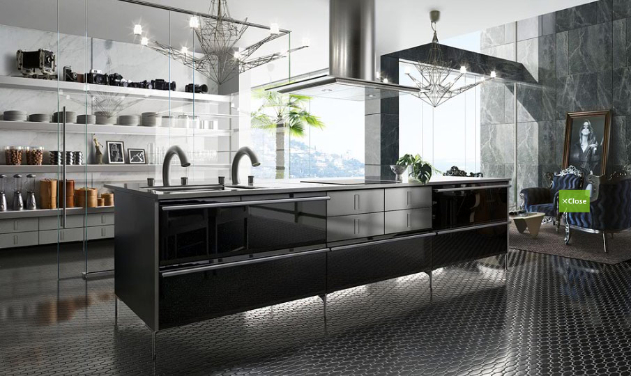 - Archietechtural kitchen design space saving ...