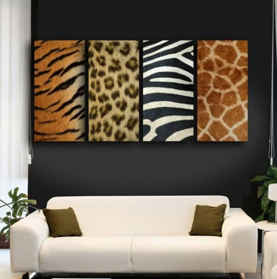 Zebra living room ideas