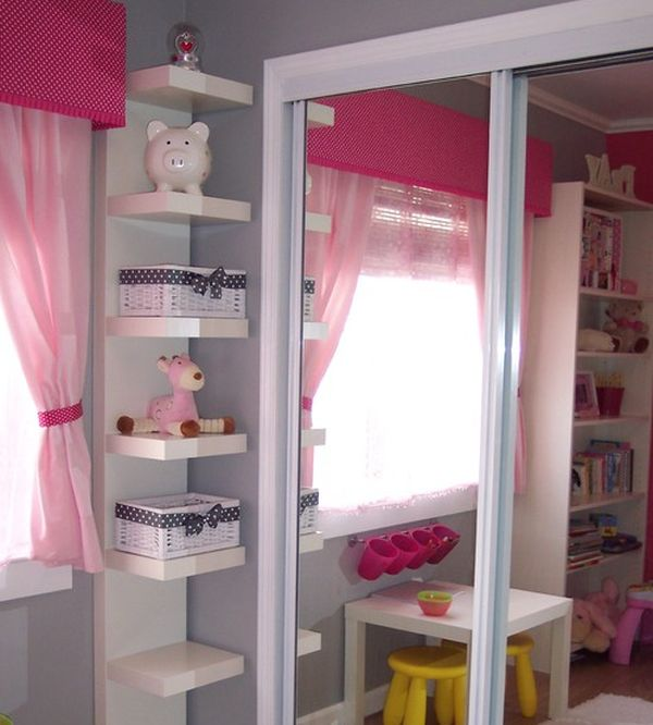 Shelf ideas for bedroom